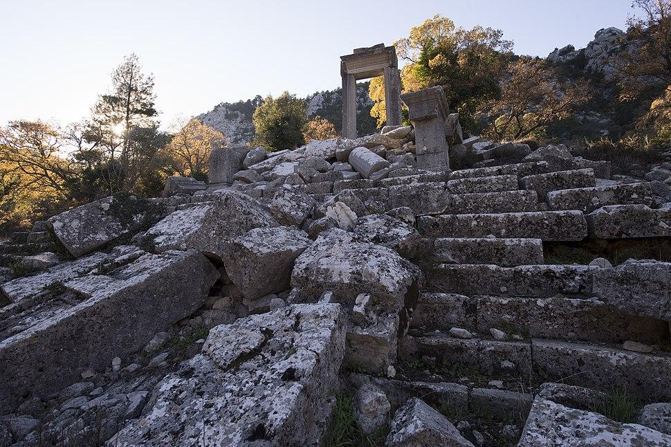 Termessos Hadrian Temple 3485