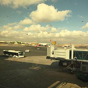 Jomo Kenyatta International Airport - Terminal 1A Airside in 2017