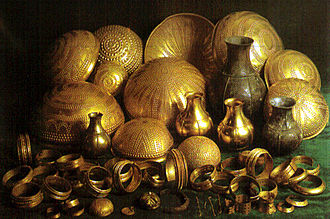 Treasure - Treasure of Villena, one of the most important prehistoric golden tableware finding in Europe.
