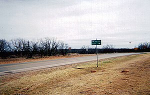 Texas State Highway 208 - State Highway 208 at US 380