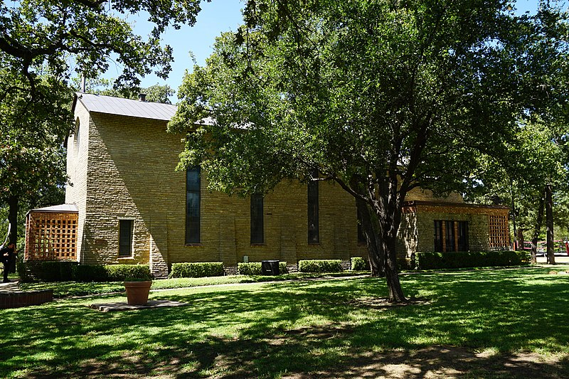 File:Texas Woman's University September 2015 42 (Little Chapel-in-the-Woods).jpg