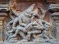 Thanjavur Brihadishvara Temple narasimma avataram Statue.jpg