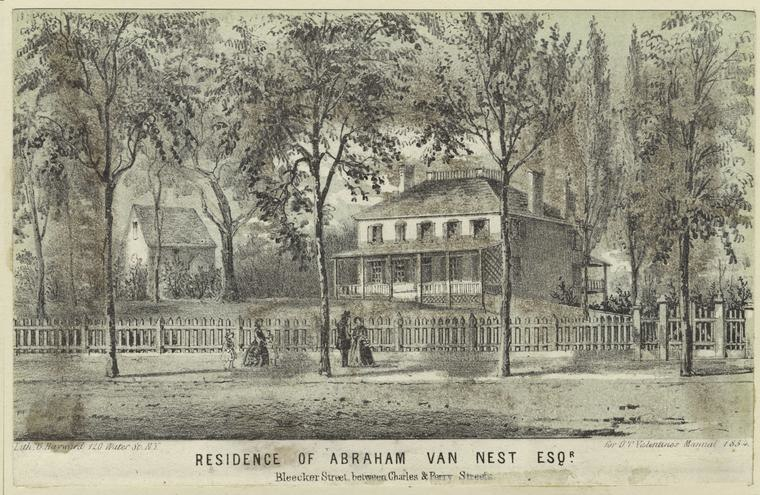 The Abraham Van Nest Residence