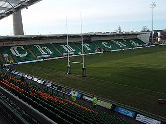 Franklin's Gardens - The Church's Stand