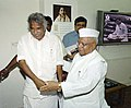 The Chief Minister of Kerala, Shri Oommen Chandy calls on the Union Minister for Small Scale, Agro & Rural Industries, Shri Mahabir Prasad in New Delhi on April 28, 2005.jpg