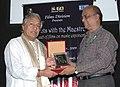 The Chief Producer, Films Division Shri Kuldeep Sinha felicitating Ustad Amjad Ali Khan, during the 40th International Film Festival (IFFI-2009), at Panaji, Goa on November 27, 2009.jpg