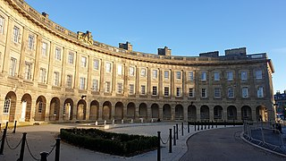 Buxton Crescent Grade I listed architectural structure in the United Kingdom