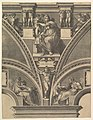 The Delphic Sibyl; from the series of Prophets and Sibyls in the Sistine Chapel MET DP821568.jpg