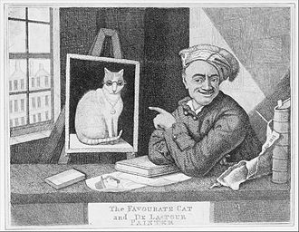 Maurice Quentin de La Tour - Portrait of Maurice Quentin de La Tour by John Kay, 1813