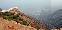 The Fort Wall of Taragarh, Ajmer.JPG
