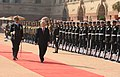 The General Secretary of the Communist Party of the Socialist Republic of Vietnam, Mr. Nguyen Phu Trong inspecting the Guard of Honour, at the ceremonial reception, at Rashtrapati Bhavan, in New Delhi on November 20, 2013.jpg