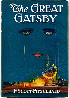<i>The Great Gatsby</i> 1925 novel by F. Scott Fitzgerald