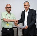The Joint Secretary, Ministry of Women & Child Development, Dr. Rajesh Sharma and the Managing Director & CEO, Cairn India.jpg
