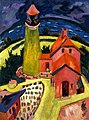 The Lighthouse of Fehmarn by Ernst Ludwig Kirchner, 1912.jpg