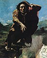 The Man Made Mad with Fear by Gustave Courbet (detail).jpg