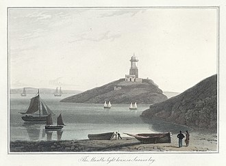 Mumbles (district) - The Mumbles light house 1815