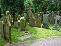 The Parish Church of Broughton St John the Baptist, Graveyard - geograph.org.uk - 866634.jpg