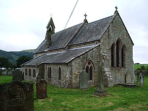 Grade II* listed buildings in Allerdale - Image: The Parish Church of St Bega, Bassenthwaite geograph.org.uk 579720