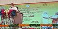 The Prime Minister, Shri Narendra Modi addresses the gathering at Shahanshahpur, Varanasi, Uttar Pradesh on September 23, 2017.jpg