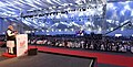 The Prime Minister, Shri Narendra Modi addressing at the inauguration of the UP Investors Summit 2018, in Lucknow, Uttar Pradesh on February 21, 2018 (2).jpg