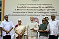 The Prime Minister, Shri Narendra Modi laying the foundation stone of various projects in Goa.jpg