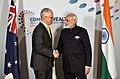 The Prime Minister, Shri Narendra Modi meeting the Prime Minister of Australia, Mr. Malcolm Turnbull, on the sidelines of CHOGM 2018, in London on April 19, 2018 (1).JPG