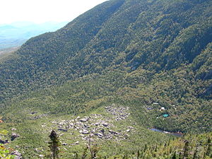 Carter Notch - Image: The Ramparts in Carter Notch