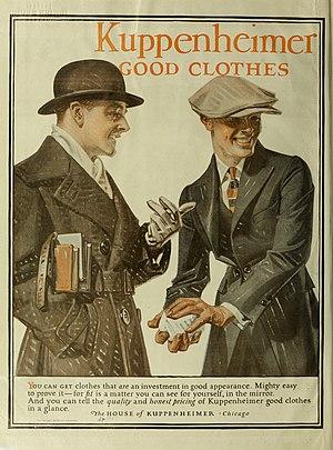 Kuppenheimer - Image: The Saturday evening post (1920) (14803709573)
