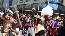 Íomhá:The Traditional Zulu Dancers in Miss Indoni 2018 Parade in Durban's busiest Street, Dr Pixley ka Seme (Old West) Street. by Sizwe Sibiya.webm