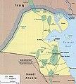 The UNIIKOM demilitarized border zone near the Iraqi-Kuwait Border.jpg