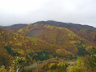 Geography of Bulgaria - Bulgaria has four seasons. Above Autumn in the Rhodope Mountains