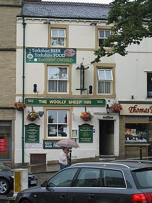 Timothy Taylor Brewery - The Woolly Sheep Inn in Skipton is a Timothy Taylors pub.