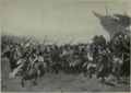 The athenian rejoicing after the naval battle of Salamis By cormon photo by Neurdein.png