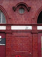 The disused CCE&HR station building on the corner of Drummond Street and Melton Street 02.jpg