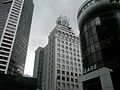 The old clock, Granville Street, Vancouver - panoramio.jpg