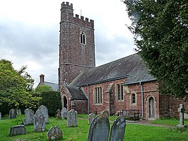 The parish church, Clyst St George - geograph.org.uk - 1309379.jpg
