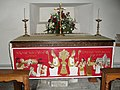 The side altar at St Peter and St Paul, West Wittering - geograph.org.uk - 1635588.jpg