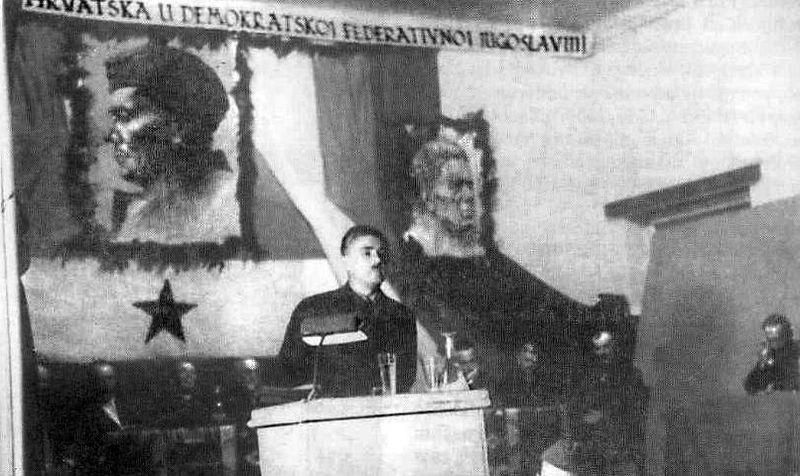 Topusko - Treće zasjedanje ZAVNOH-a