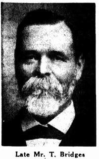 Thomas Bridges (Australian politician) Australian politician