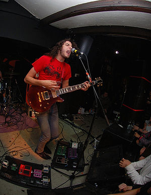 Thomas Erak - Image: Thomas Erak of The Fall of Troy live 2007