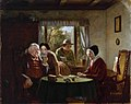 Thomas George Webster (1800-1886) - A Letter from the Colonies - T00046 - Tate.jpg