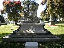 Thomas O. Larkin grave front.JPG