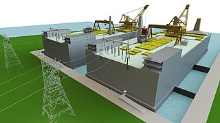 TMSR-500 Thorcon is a project for a modular molten salt nuclear reactor proposed by Martingale of Florida in the United States of America.