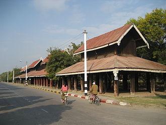 Zayat - The Thudamma Zayats in Mandalay were built during the Konbaung Dynasty.