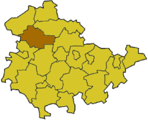 Unstrut-Hainich-Kreis - Image: Thuringia uh
