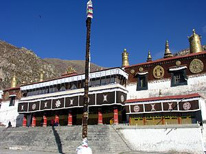 Tibet-5621 - Great Assembly Hall - Depung Monastery (2213197192).jpg