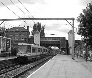 Timperley - Timperley metrolink station