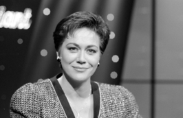 Tineke Verburg in 1991