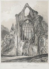 Tintern Abbey, Monmouthshire: West Front