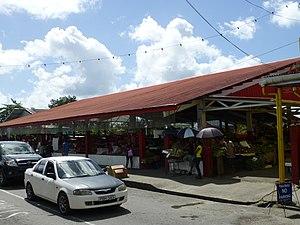Sangre Grande: TnT Sangre Grande Market Hall